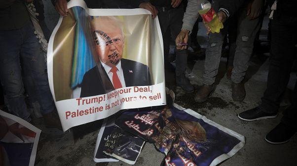 Trump béketerve igazán csak Netanjahunak tetszik