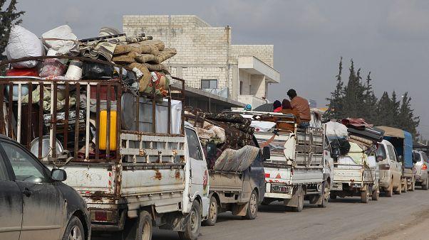قوات النظام السوري تتقدم في ثاني أكبر مدن محافظة إدلب