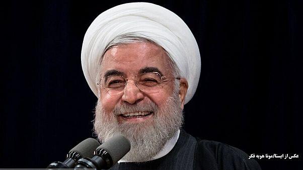 خندههای حسن روحانی و حاضران در جلسه؛ «افغانستان هم این کار را کرد»