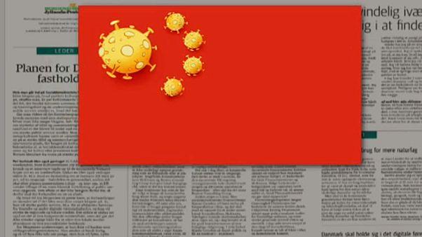Danimarka gazetesinin virüslü Çin bayrağı karikatürü Pekin'i kızdırdı