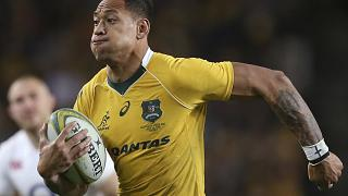 Israel Folau was fired by Australia over homophobic comments he posted to social media