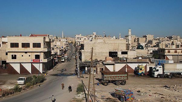 معرة النعمان السورية تتحّول من مركز للتظاهرات الضخمة إلى مدينة أشباح