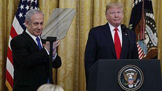 دونالد ترامپ از طرح «معامله قرن» برای صلح در خاورمیانه رونمایی کرد