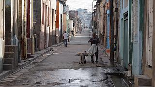 File Photo - a street in Santiago where some said they felt the earthquake.