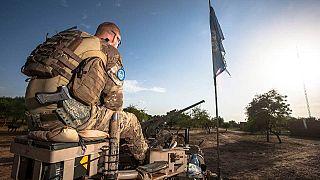 سرباز نیروهای ائتلاف در آفریقا