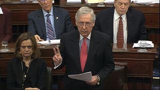 زعيم الأغلبية الجمهورية في مجلس الشيوخ الأميركي، ميتش ماكونيل