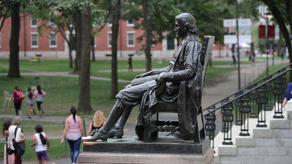 ABD Harvard Üniversitesi kampus