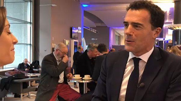 A la rencontre de l'intriguant Sandro Gozi, élu européen LREM, désormais en poste