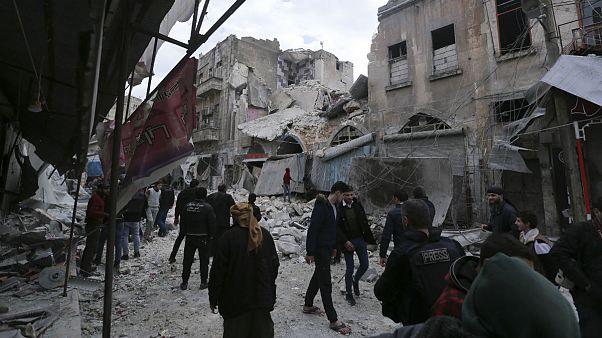 «معرة النعمان» سوریه با حمایت روسیه از کنترل مخالفان مسلح خارج شد
