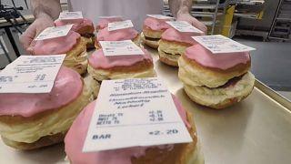 Einen, den man essen kann: Zuckersüßer Protest gegen Bonpflicht