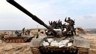 الجيش السوري يعلن السيطرة على مدينة معرة النعمان الاستراتيجية