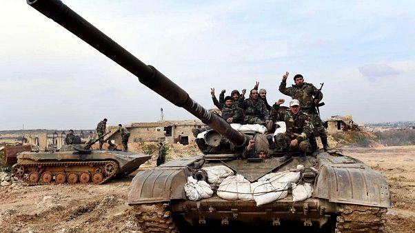 Танк Сирийской арабской армии, 28 января