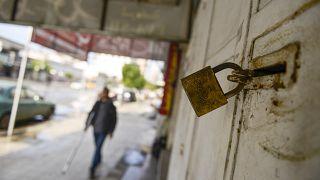 ABD'nin barış planına protesto etmek amacıyla Gazze Şeridi'nde genel greve gidildi