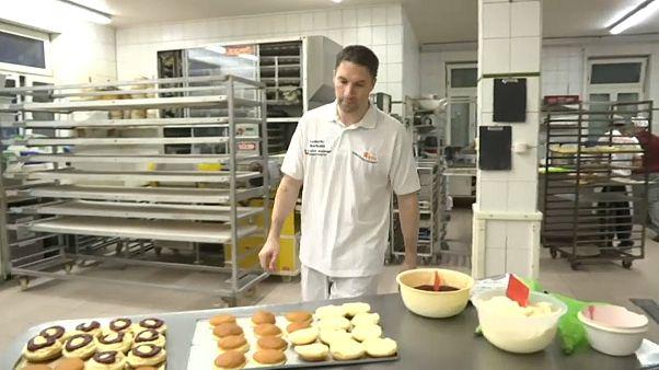 الخباز وصانع الحلويات ليودوفيك جيربوان-مدينة موسينينغ- ألمانيا/28 يناير 2020