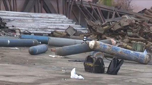 Rakéta ölt meg egy férfit Romániában
