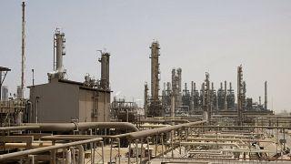 تصویری از تأسیسات نفتی آرامکو