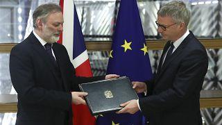 Avrupa Parlamentosu onayladı: Brexit'e son 24 saat