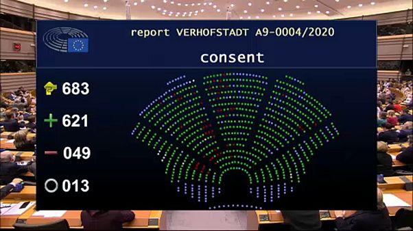 Európai Parlament: Igen a brexitre