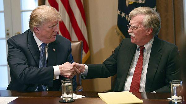 ترامپ: اگر به بولتون گوش میدادم اکنون در جنگ جهانی ششم بودیم