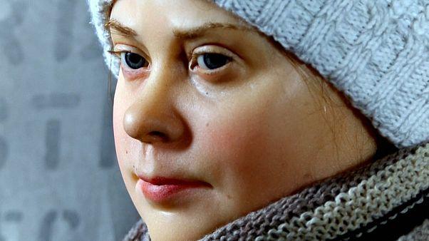 Museu alemão revela estátua de cera de Greta Thunberg