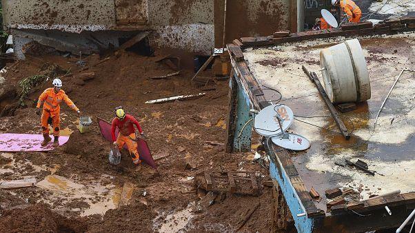 Brezilya'da aşırı yağışlar can kayıplarına neden oldu