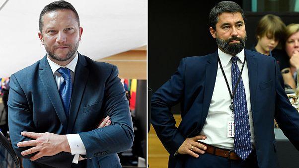 Ujhelyi István és Hidvéghi Balázs