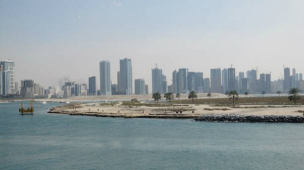 مقامات بریتانیایی: یک کشتی در نزدیکی سواحل امارات آتش گرفت