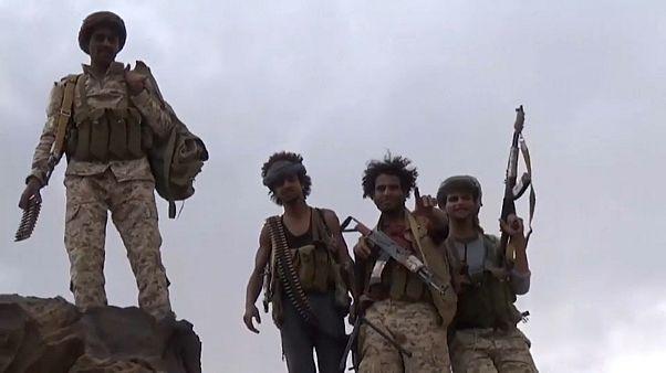 قوات تابعة للحكومة اليمنية المعترف بها دولياً