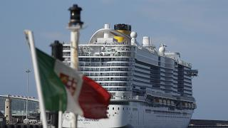 Thousands of passengers are aboard the cruise ship