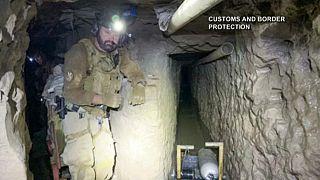 کشف طولانیترین تونل مخفی قاچاق مواد مخدر در مرز آمریکا با مکزیک