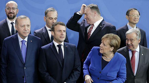 جدال لفظی فرانسه و ترکیه؛ ماکرون: اردوغان توافق برلین را نقض کرد