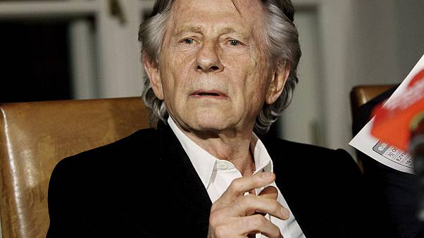 FILE - In this Oct. 30, 2015, file photo, filmmaker Roman Polanski speaks to reporters