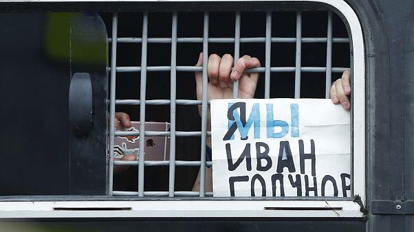 Арестованы бывшие полицейские по делу Ивана Голунова