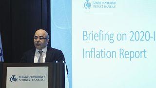 TCMB Başkanı Uysal: 'Enflasyon yıl sonunda yüzde 8,2 olacak, 2021 sonunda yüzde 5,4'e gerileyecek'