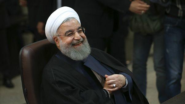İran Cumhurbaşkanı Hasan Ruhani (arşiv)
