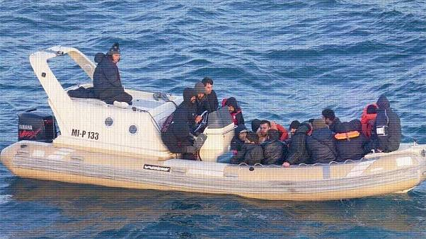 Surging numbers of migrants risk their lives in small boats to get to UK