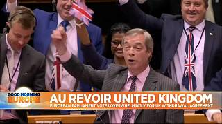 Au Revoir United Kingdom: Brussels farewell to British MEPs ahead of Brexit day