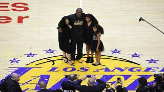 Kobe Bryant ve ailesi, 2016