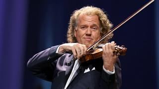 Andre Rieu performs at the Royal Albert Hall for the Classical BRIT Awards on Tuesday, October 02, 2012 in London, UK.