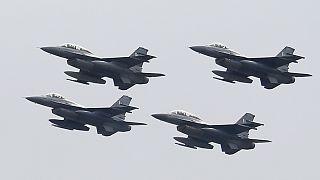 مانوور جنگندهها در روز ملی پاکستان