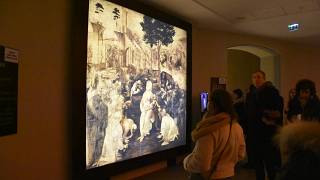 L'opera omnia di Leonardo da Vinci in mostra a Lione