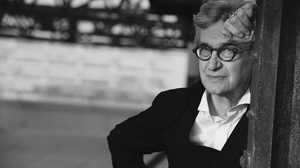 Il regista tedesco Wim Wenders