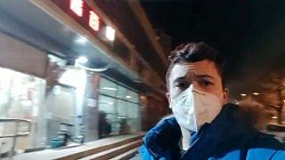 En la trastienda del coronavirus: un español muestra las calles desiertas de Pekín