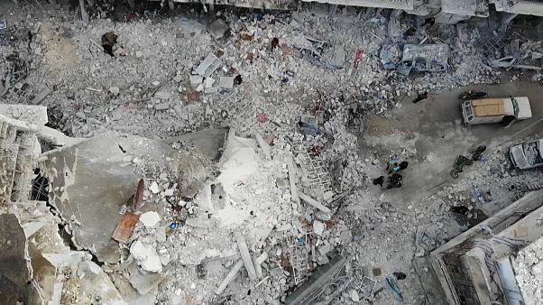 Orosz légicsapás gyilkolt egy szíriai kórház közelében
