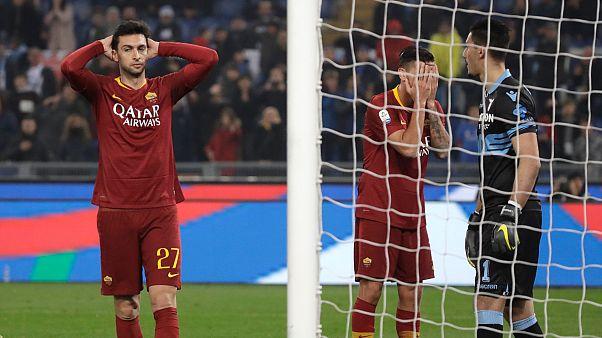 AS Roma forması ile Javier Pastore