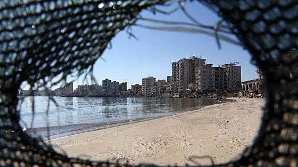 Φωτογραφικό στιγμιότυπο από την κλειστή πόλη της Αμμοχώστου