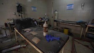 Lebombáztak egy szíriai kórházat, Oroszország tagadja felelősségét