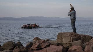 Greece hopes the barrier will prevent migrant crossings from Turkey