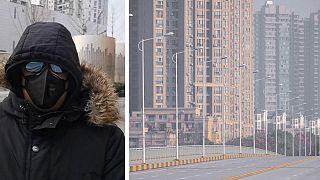 """""""Von Kopf bis Fuß bedeckt und besorgt"""" - Video aus Wuhan"""