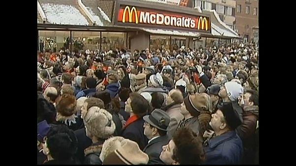 Vor 30 Jahren: Erster McDonald's in Moskau